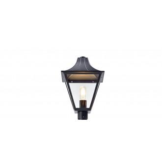 MARKSLOJD 107120 | Mix_Match Markslojd lámpafej lámpa 1x E27 IP44 fekete, átlátszó