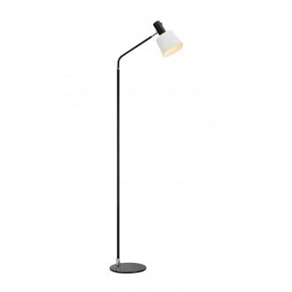 MARKSLOJD 107219 | Bodega Markslojd álló lámpa 144,5cm kapcsoló elforgatható alkatrészek 1x E27 fekete, fehér