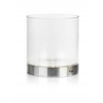 MARKSLOJD 107326 | Bouquet Markslojd asztali lámpa 19cm kapcsoló elemes/akkus 1x LED 160lm króm, átlátszó