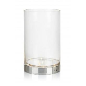 MARKSLOJD 107327 | Bouquet Markslojd asztali lámpa 29cm kapcsoló elemes/akkus 1x LED 160lm króm, átlátszó
