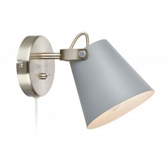 MARKSLOJD 107396 | Tribe-MS Markslojd falikar lámpa kapcsoló elforgatható alkatrészek 1x E14 szürke, acél