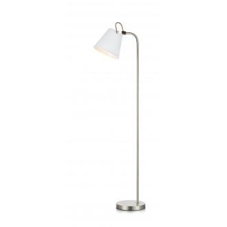 MARKSLOJD 107398 | Tribe-MS Markslojd álló lámpa 140cm vezeték kapcsoló elforgatható alkatrészek 1x E27 fehér, acél