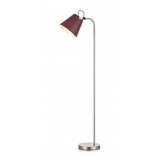 MARKSLOJD 107400 | Tribe-MS Markslojd álló lámpa 140cm vezeték kapcsoló elforgatható alkatrészek 1x E27 burgundi, acél