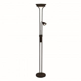 MARKSLOJD 111223 | Detroit-MS Markslojd álló lámpa 180cm fényerőszabályzós kapcsoló flexibilis, szabályozható fényerő 2x GU10 fekete