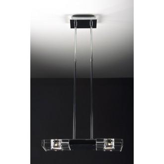 MAXLIGHT 119 12 12 01 | MarsM Maxlight függeszték lámpa 2x G9 króm, átlátszó