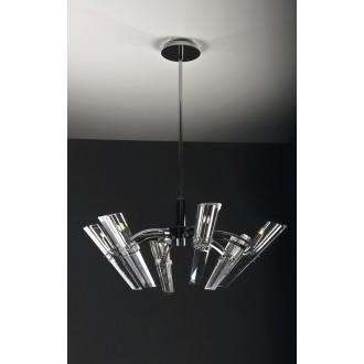 MAXLIGHT 147 06 12 01 | King Maxlight csillár lámpa 6x G9 króm, átlátszó