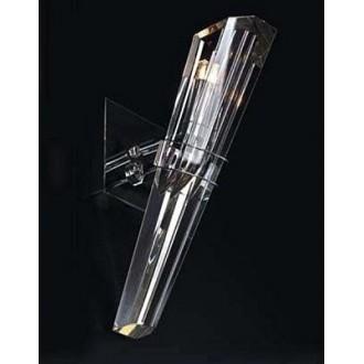 MAXLIGHT 147 71 12 01 | King Maxlight fali lámpa elforgatható alkatrészek 1x G9 króm, átlátszó