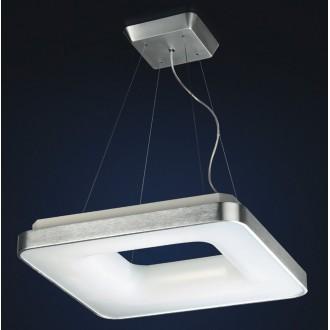MAXLIGHT 2768/4-1428 | Braga Maxlight függeszték lámpa 4x 2G11 / PL-L/4P 4000K alumínium, fehér