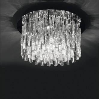 MAXLIGHT 3817/10C | BilbaoM Maxlight mennyezeti lámpa 10x G4 króm, átlátszó