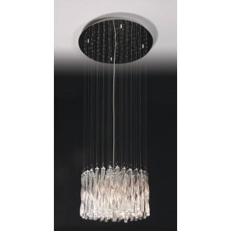 MAXLIGHT 3817/10P | BilbaoM Maxlight függeszték lámpa 10x G4 króm, átlátszó