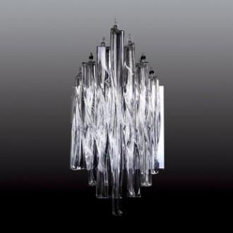 MAXLIGHT 3817/5W | BilbaoM Maxlight fali lámpa 5x G4 króm, átlátszó