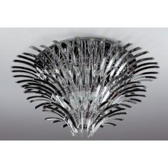 MAXLIGHT 3960/26C | Kristal Maxlight mennyezeti lámpa 26x G4 króm, átlátszó