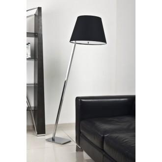 MAXLIGHT 5103F/BL | OrlandoM Maxlight álló lámpa 158cm kapcsoló 1x E27 fekete, króm