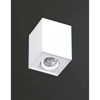 MAXLIGHT C0070 | Basic-Square Maxlight mennyezeti lámpa elforgatható fényforrás 1x GU10 fehér