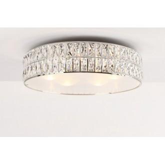 MAXLIGHT C0122 | Diamante Maxlight mennyezeti lámpa 6x G9 króm, átlátszó, opál