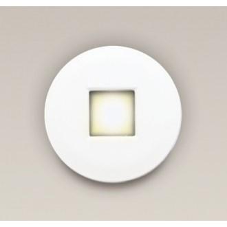 MAXLIGHT H0042 | Oprawa-IP65 Maxlight beépíthető lámpa kerek Ø85mm 1x MR16 / GU5.3 IP65 fehér