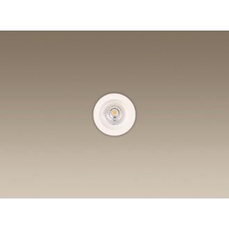 MAXLIGHT H0063 | Technical_spoT Maxlight beépíthető lámpa Ø90mm 1x LED 550lm 3000K IP65 fehér