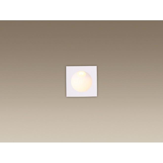 MAXLIGHT H0073 | TimeM Maxlight beépíthető lámpa 80x80mm 1x LED 140lm 3000K IP54 fehér