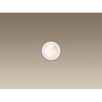 MAXLIGHT H0074 | TimeM Maxlight beépíthető lámpa Ø80mm 1x LED 140lm 3000K IP54 fehér