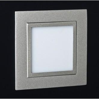 MAXLIGHT LEN.2C | PlanoM Maxlight beépíthető lámpa 80x80mm 1x LED 3100K szürke