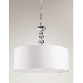 MAXLIGHT P0061 | EleganceM Maxlight függeszték lámpa 4x E27 króm, fehér