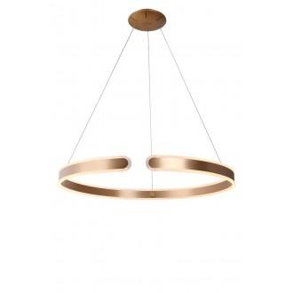 MAXLIGHT P0262 | SydneyM Maxlight függeszték lámpa 1x LED 3200lm 3000K arany