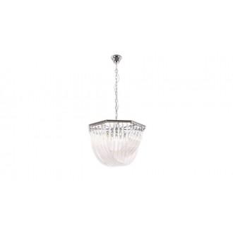 MAXLIGHT P0286 | Plaza-MX Maxlight csillár lámpa 5x E14 króm, átlátszó