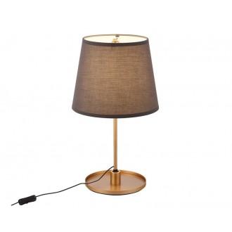 MAXLIGHT T0033 | SydneyM Maxlight asztali lámpa 53cm vezeték kapcsoló elforgatható alkatrészek 1x LED 600lm 3000K arany