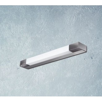 MAXLIGHT W0015 | Ren Maxlight fali lámpa 1x G5 / T5 2700K IP44 króm, matt nikkel