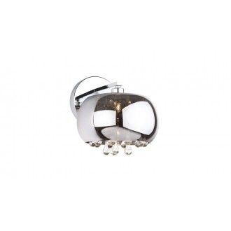 MAXLIGHT W0076-01D | MoonlightM Maxlight fali lámpa 1x G9 króm, átlátszó