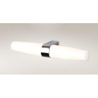 MAXLIGHT W0080 | Badia Maxlight fali lámpa 2x E14 IP44 króm, fehér