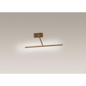 MAXLIGHT W0104   PictureM Maxlight falikar lámpa elforgatható alkatrészek 66x LED 390lm 3000K antikolt réz