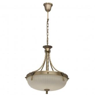 MW-LIGHT 317010504 | Aphrodite-MW Mw-Light függeszték lámpa 4x E14 2580lm antikolt réz, bézs
