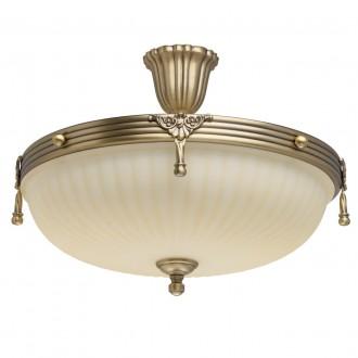 MW-LIGHT 317011504 | Aphrodite-MW Mw-Light mennyezeti lámpa 4x E14 2580lm antikolt réz, bézs