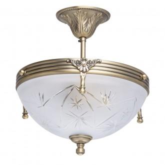 MW-LIGHT 317011603 | Aphrodite-MW Mw-Light mennyezeti lámpa 3x E14 1935lm mattított arany, opál