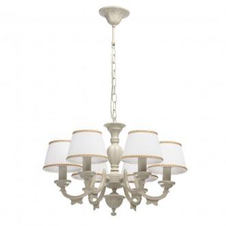 MW-LIGHT 450012506   Ariadna Mw-Light csillár lámpa 6x E14 bézs, elefántcsont