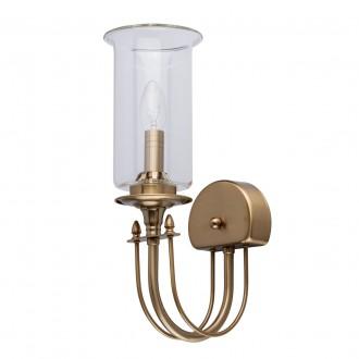 MW-LIGHT 481022901 | Amanda-MW Mw-Light falikar lámpa 1x E14 430lm szatén sárgaréz, átlátszó