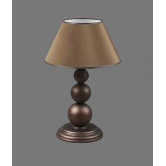 NAMAT 1205/3 | Bert Namat asztali lámpa 52cm kapcsoló 1x E27 barna, fehér