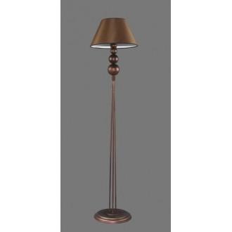 NAMAT 1206/3 | Bert Namat álló lámpa 170cm kapcsoló 1x E27 barna, fehér