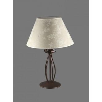 NAMAT 1211/8 | Boren Namat asztali lámpa 62cm kapcsoló 1x E27 barna, többszínű
