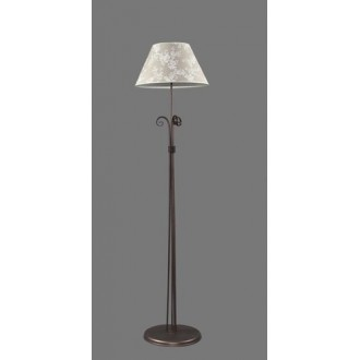 NAMAT 1212/8 | Boren Namat álló lámpa 175cm kapcsoló 1x E27 barna, többszínű