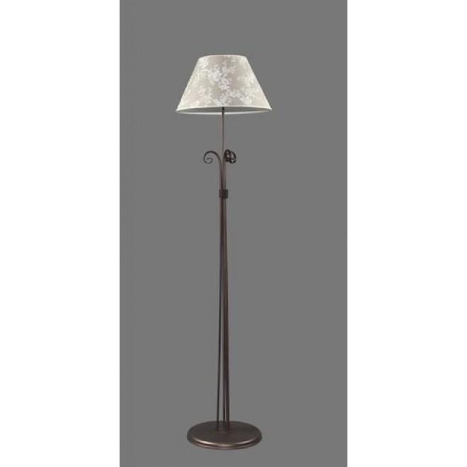 NAMAT 1212/8   Boren Namat álló lámpa 175cm kapcsoló 1x E27 barna, többszínű