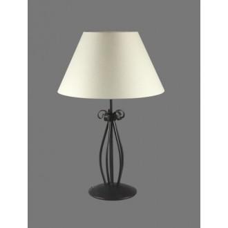 NAMAT 1213/1 | Eramis Namat asztali lámpa 62cm kapcsoló 1x E27 fehér, fekete