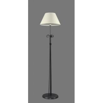 NAMAT 1214/1 | Eramis Namat álló lámpa 175cm kapcsoló 1x E27 fehér, fekete