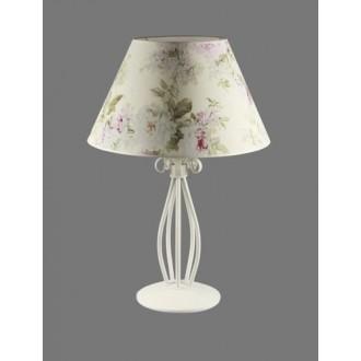 NAMAT 1217/9 | Merton Namat asztali lámpa 62cm kapcsoló 1x E27 fehér, többszínű