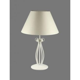 NAMAT 1219/1 | Gines Namat asztali lámpa 62cm kapcsoló 1x E27 fehér