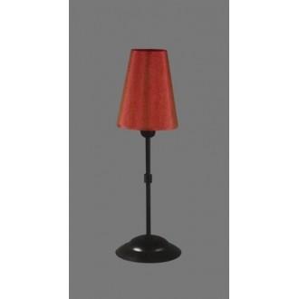 NAMAT 1231/11 | RadanN Namat asztali lámpa 40cm kapcsoló 1x E14 fekete, piros, fehér