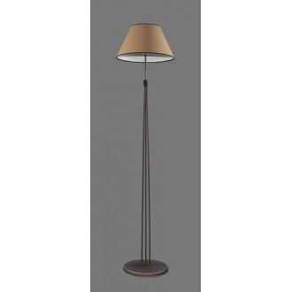 NAMAT 1234/5 | Teri Namat álló lámpa 175cm kapcsoló 1x E27 barna, bézs, fehér