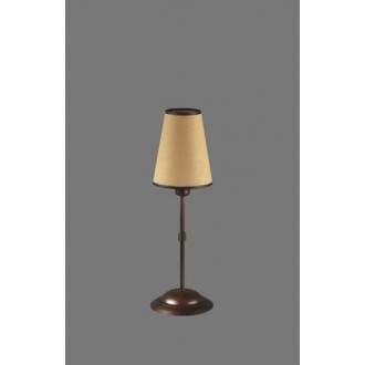 NAMAT 1235/5 | Irma Namat asztali lámpa 40cm kapcsoló 1x E14 barna, bézs, fehér