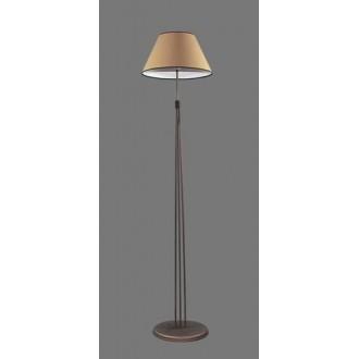 NAMAT 1236/5 | Irma Namat álló lámpa 175cm kapcsoló 1x E27 barna, bézs, fehér